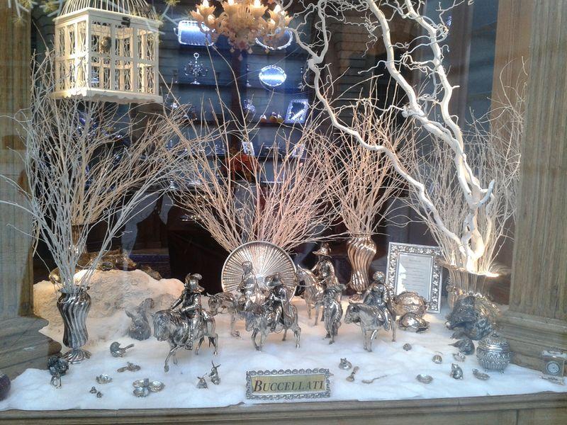 Les vitrines de luxe joaillerie noel 2012 for Decoration de noel luxe