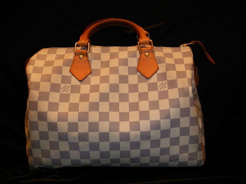Sac à Main Bleu Azur : Authentifier le sac speedy louis vuitton mondepotvente